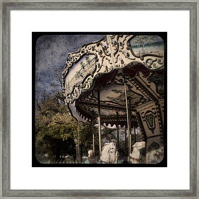 Abandoned Wonder Framed Print by Andrew Paranavitana