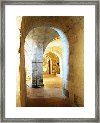 Abbayee 1 Framed Print by Diana Moya
