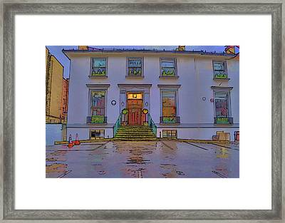 Abbey Road Recording Studios Framed Print by Chris Thaxter
