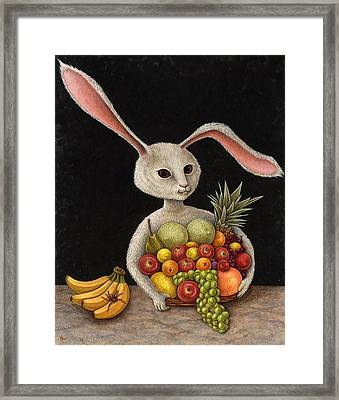 Abbondanza Framed Print by Holly Wood