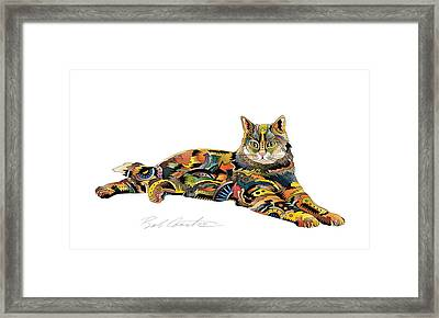 Abe Framed Print by Bob Coonts