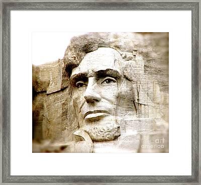 Abe Framed Print by Nancy TeWinkel Lauren