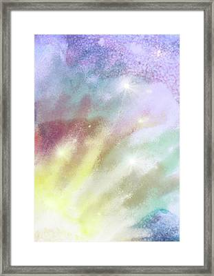 Abide Framed Print by Jacynthe Charlebois