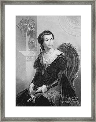 Abigail Smith Adams Framed Print by American School