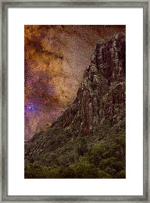 Aboriginal Dreamtime Framed Print by Charles Warren