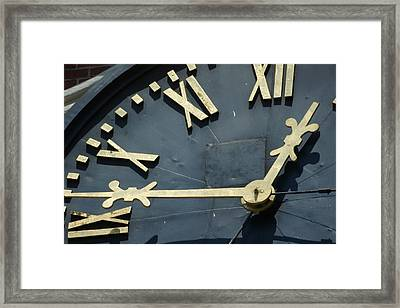 About Time Framed Print by Eric Workman