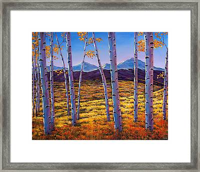 Above It All Framed Print by Johnathan Harris