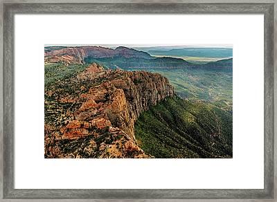 Above Kolob Terrace Framed Print by Loree Johnson
