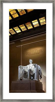Abraham Lincoln Framed Print by Andrew Soundarajan