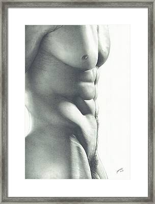 Abs-olutely Framed Print by Maciel Cantelmo