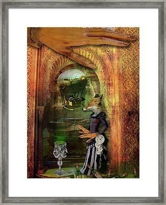 Absinthe Of Faith Framed Print by Deile Smith