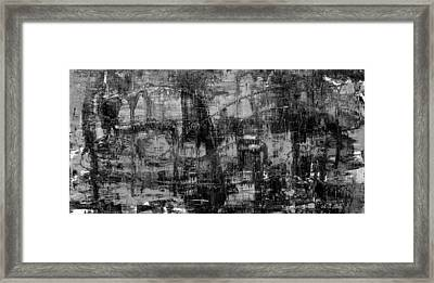 Abstract # 2 Midnight Framed Print by Rich Franco