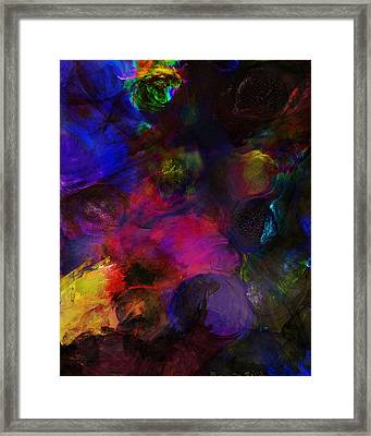 Abstract 042711a Framed Print by David Lane