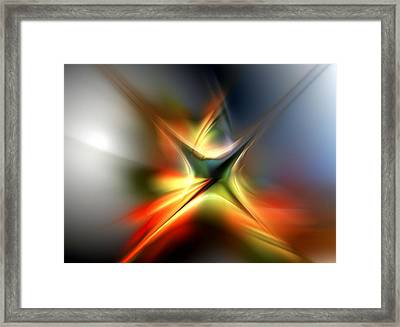 Abstract 060310a Framed Print by David Lane