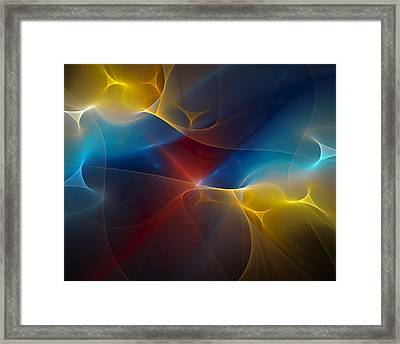 Abstract 060410 Framed Print by David Lane