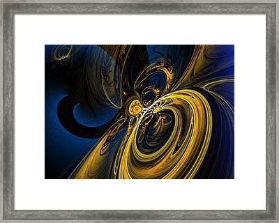 Abstract 060910 Framed Print by David Lane
