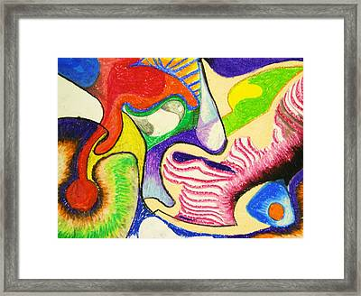 Abstract 1 Framed Print by Jame Hayes
