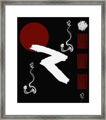Abstract 11 Framed Print by Art Spectrum