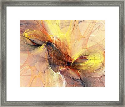 Abstract 111110a Framed Print by David Lane