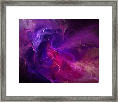 Abstract 111310b Framed Print by David Lane