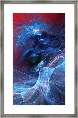 Abstract 111610 Framed Print by David Lane