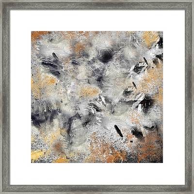 Abstract 13 Framed Print by Art Spectrum