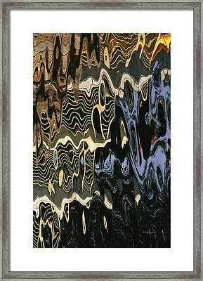 Abstract 13 Framed Print by Xueling Zou