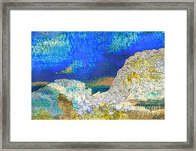 Abstract 2 Framed Print by Aline Halle-Gilbert