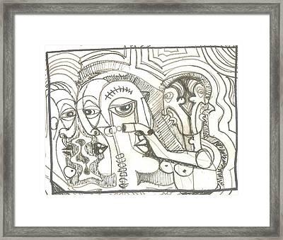 Abstract 20 Framed Print by Robert Wolverton Jr