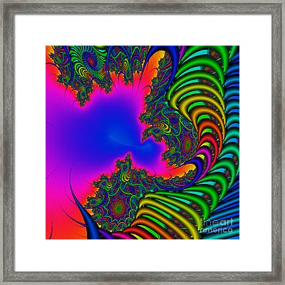 Abstract 2009041104 Framed Print by Rolf Bertram