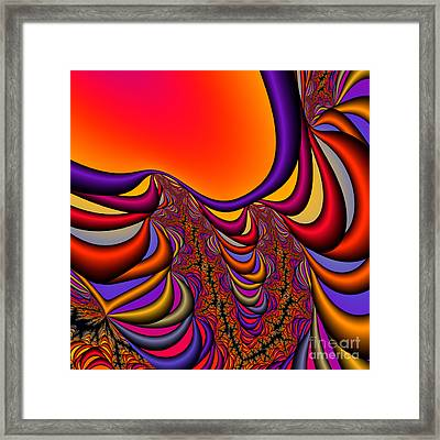 Abstract 2009041141 Framed Print by Rolf Bertram