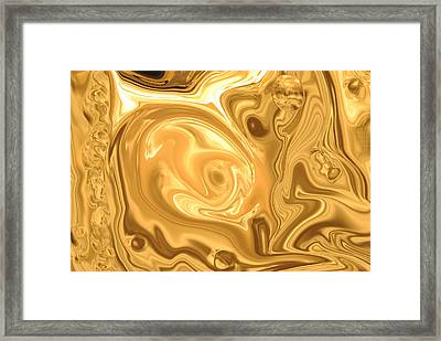 Abstract 23  Framed Print by Michelle  BarlondSmith