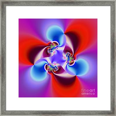 Abstract 231 Framed Print by Rolf Bertram