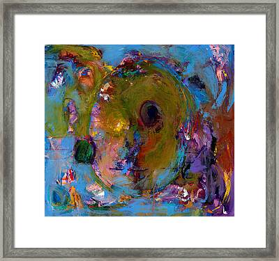 Abstract 233 Framed Print by Johnathan Harris