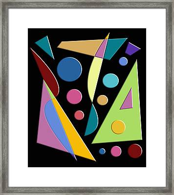 Abstract #315 Framed Print by Ron Trickett