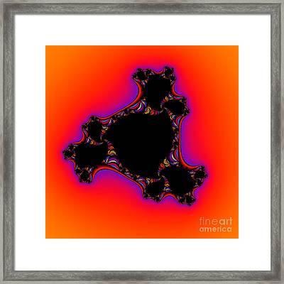 Abstract 37 Framed Print by Rolf Bertram