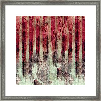 Abstract 4/16 Framed Print by Filippo B