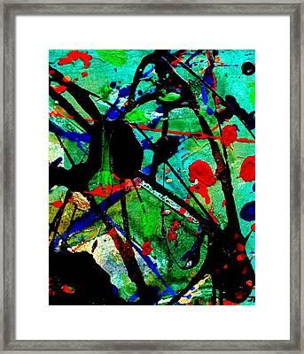 Abstract 40 Framed Print by John  Nolan