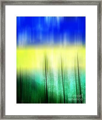 Abstract 43 Framed Print by Gerlinde Keating - Keating Associates Inc