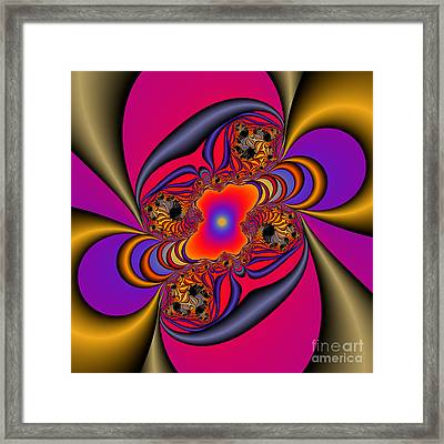 Abstract 46 Framed Print by Rolf Bertram