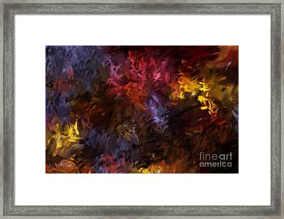 Abstract 5-23-09 Framed Print by David Lane