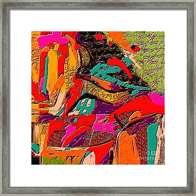 Abstract 508 Framed Print by Nedunseralathan R