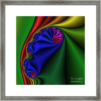 Abstract 513 Framed Print by Rolf Bertram