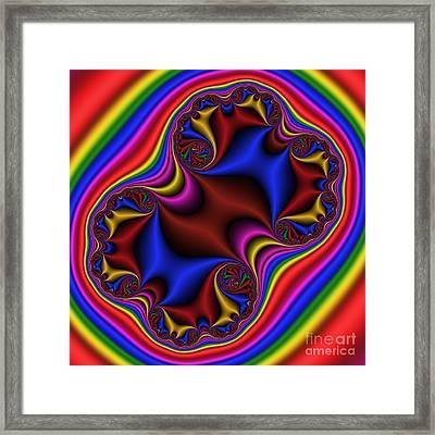 Abstract 515 Framed Print by Rolf Bertram