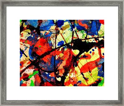 Abstract 52 Framed Print by John  Nolan