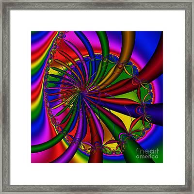 Abstract 525 Framed Print by Rolf Bertram