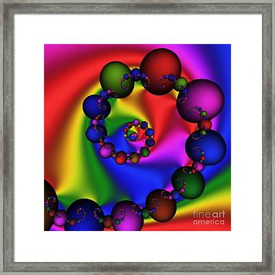 Abstract 537 Framed Print by Rolf Bertram