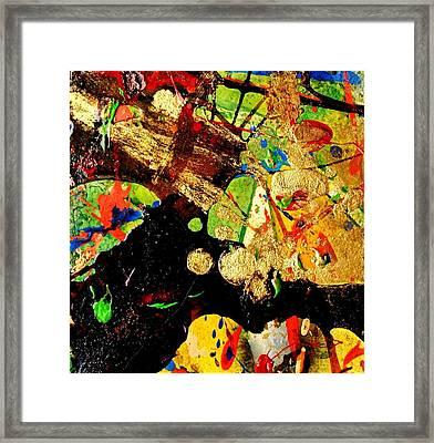 Abstract 54 Framed Print by John  Nolan
