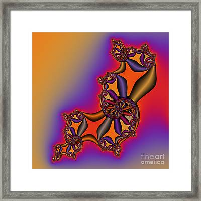 Abstract 54 Framed Print by Rolf Bertram