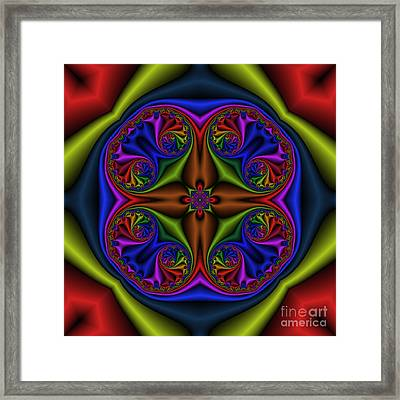 Abstract 601 Framed Print by Rolf Bertram
